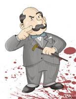 Hercule Poirot by claudiovc