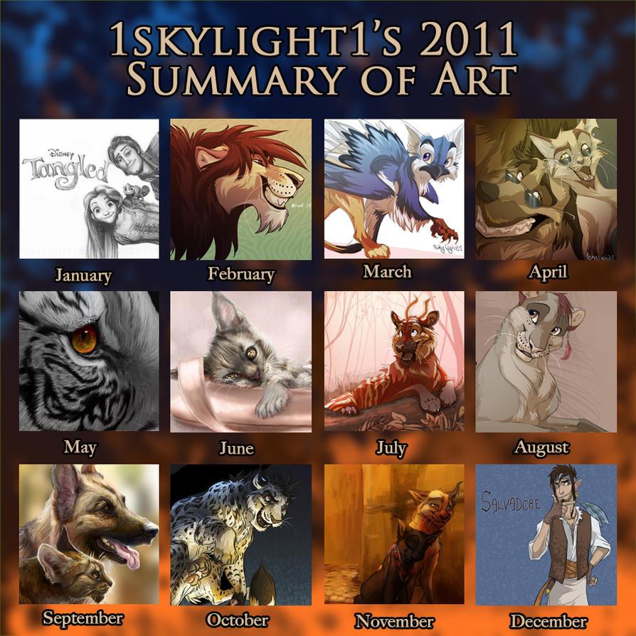 2o11 Summary of Art by 1skylight1
