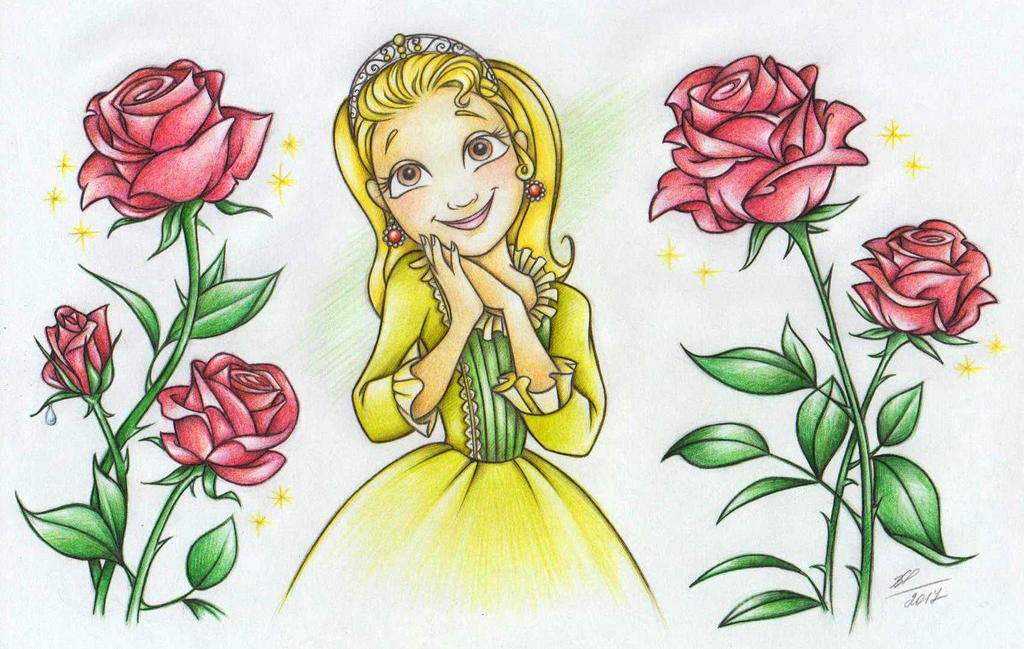 Beauty Amber) by Anastasia1995art