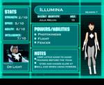 Young Justice OC: Illumina