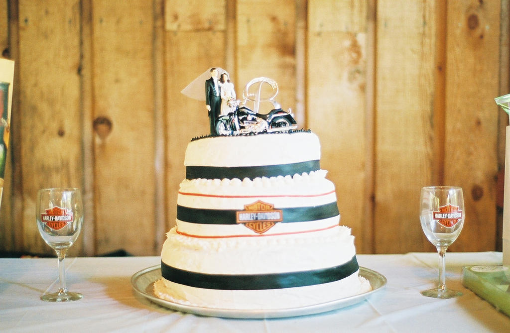 Harley Davidson Wedding Cake By Einafets