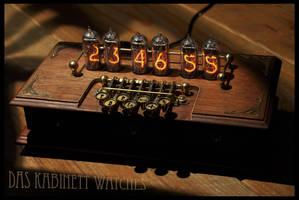 Steampunk Nixie Clock ~Timewriter~