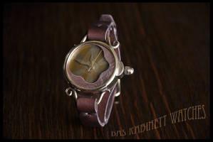 Handmade Steampunk Wrist Watch Solar