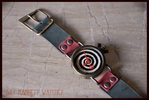 Handcrafted wrist watch ~Burton~