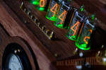 Steampunk Dieselpunk Nixie Clock ~Switchbox~