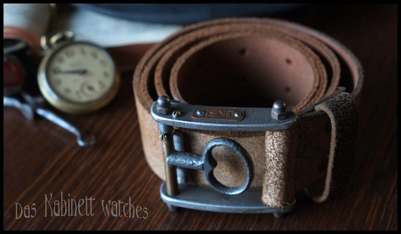 Belt Buckle 1880 by DasKabinettWatches