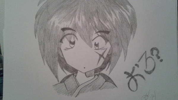 Chibi Kenshin by Deadberri