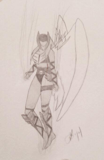 Val'kyr Battle-maiden by Deadberri