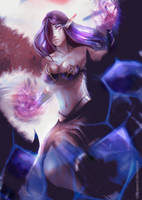 Morgana - League of Legends by talitapersi