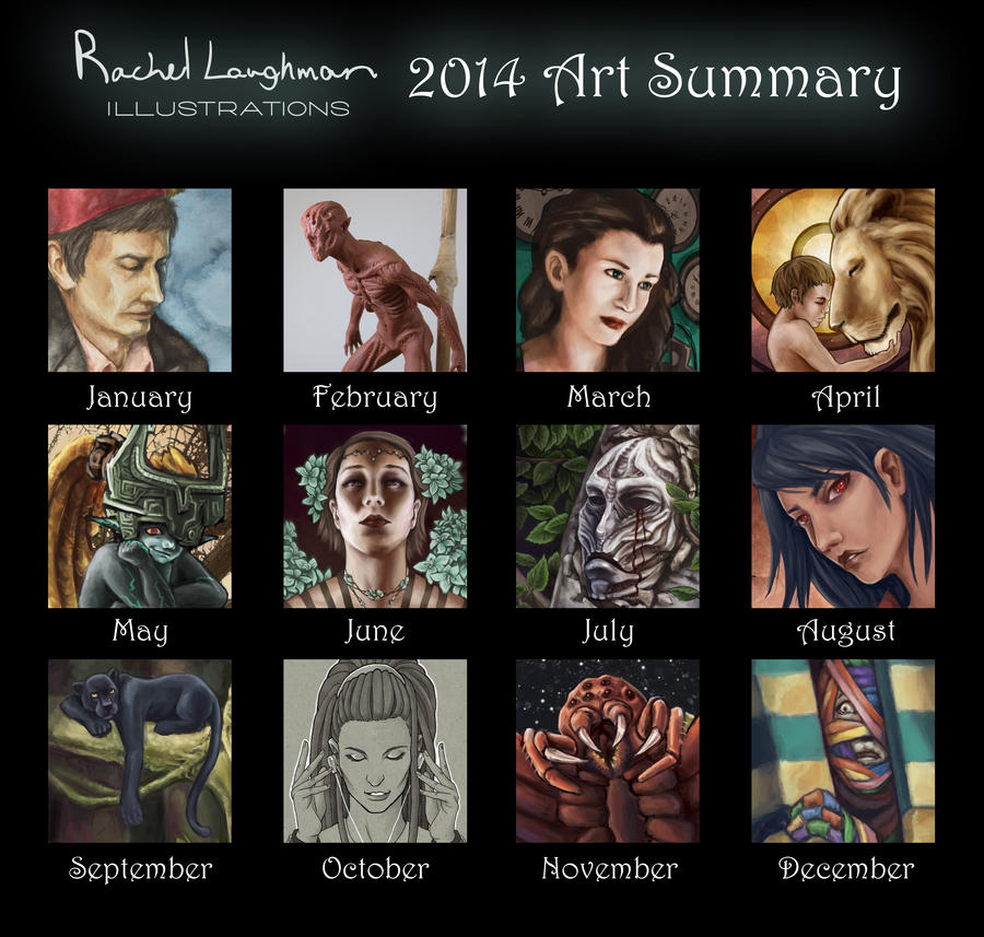 2014 Art Summary by Rinithil
