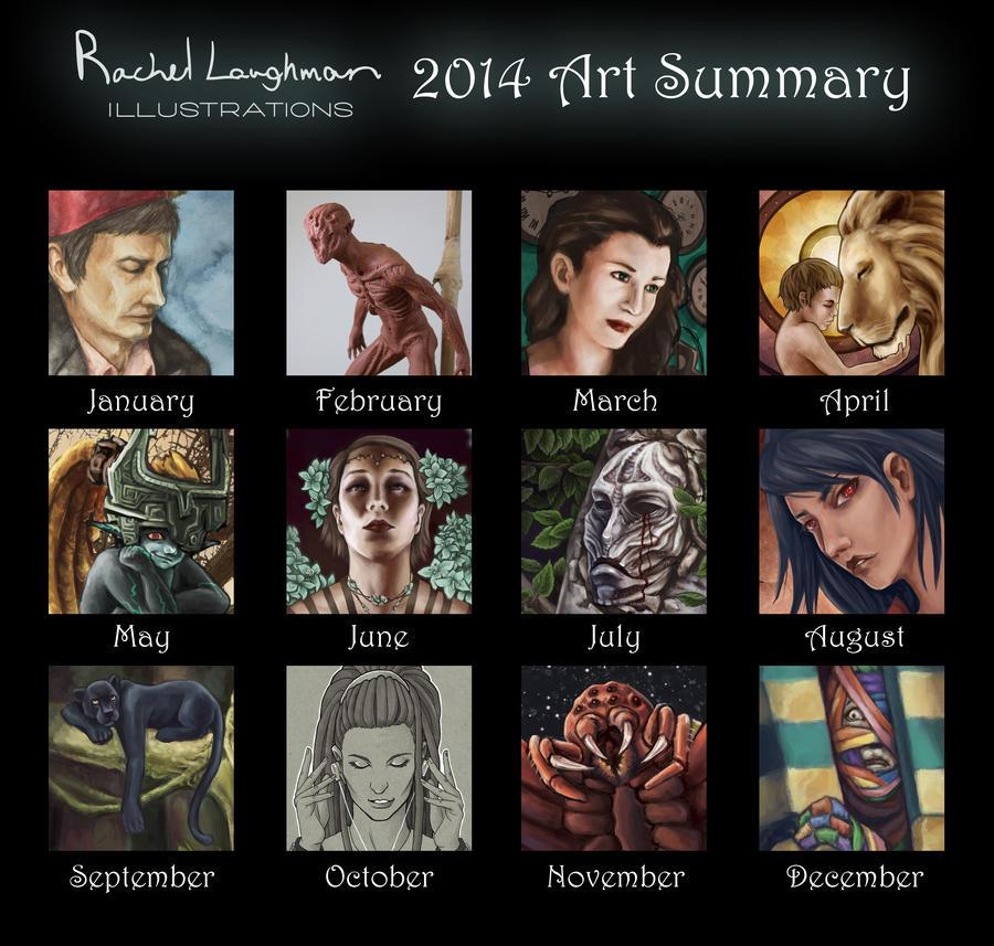 2014 Art Summary by Rinithil
