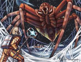 Space Spider by RachelLaughman