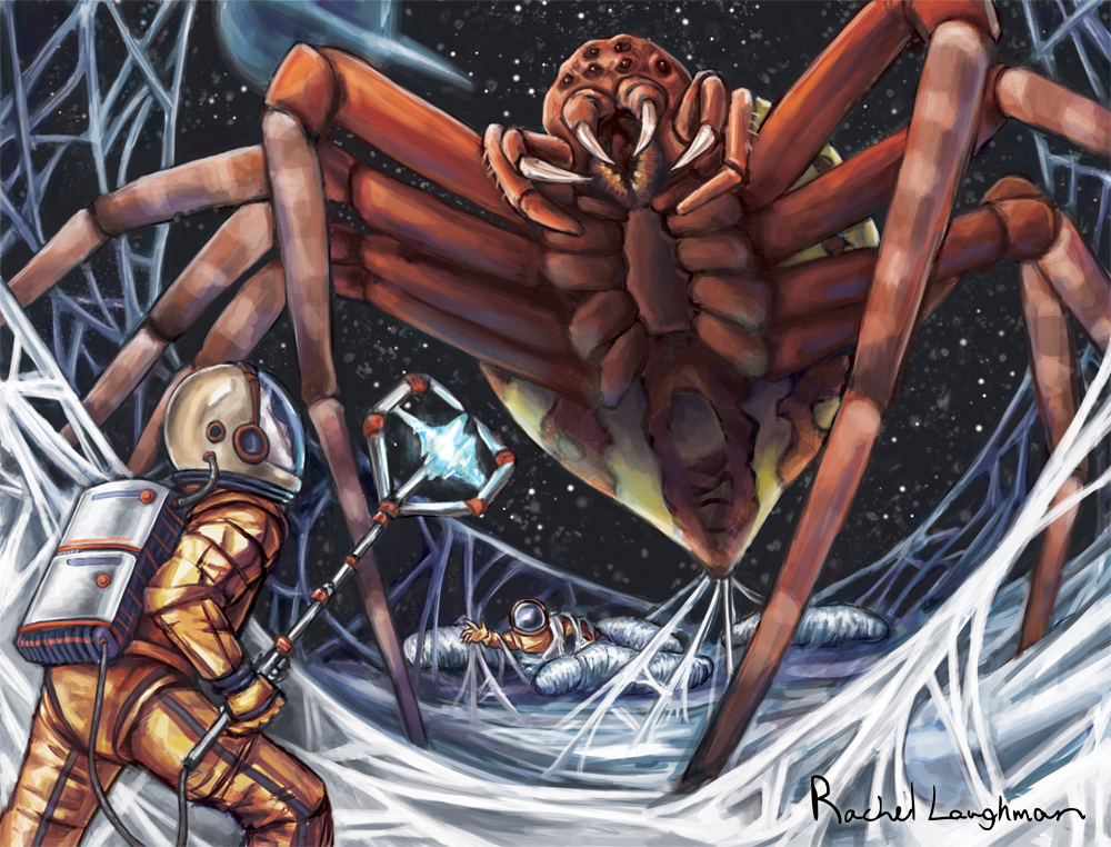 Space Spider by RachelLaughman