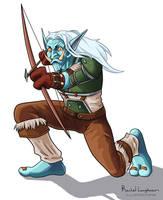 Hunter Troll Crabwalk by RachelLaughman
