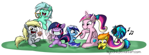 Best foal sitter in all over Equestria