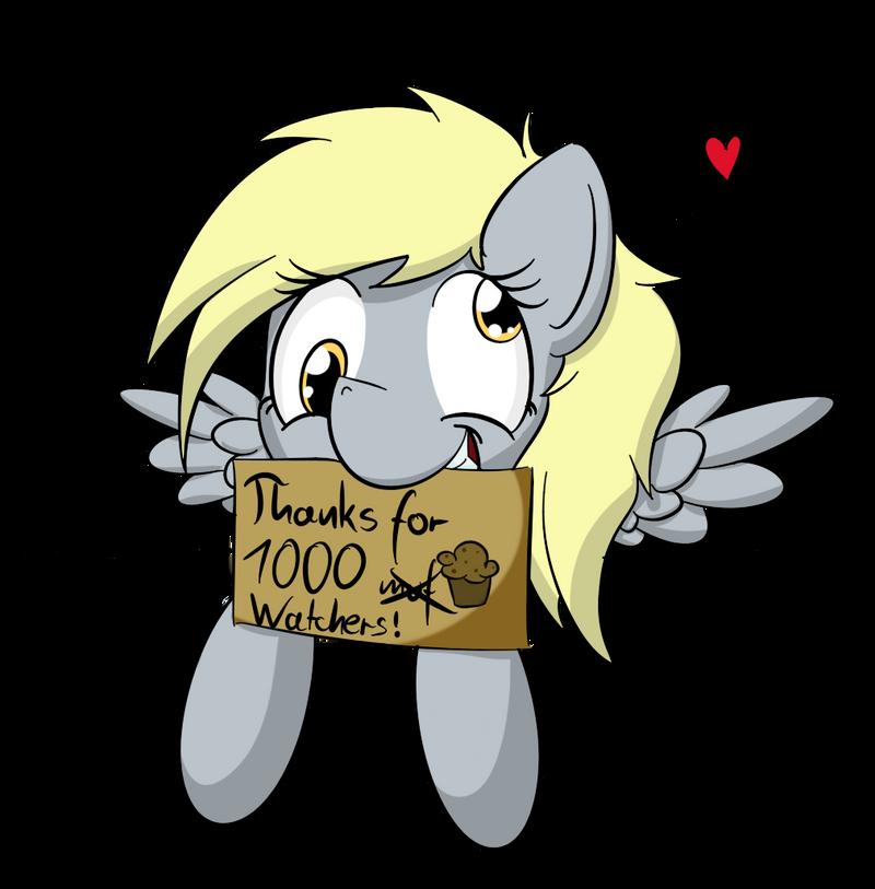 Thanks for over 1000 watchers! by Kiyoshiii