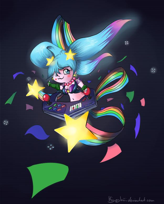 Arcade Sona by Kiyoshiii