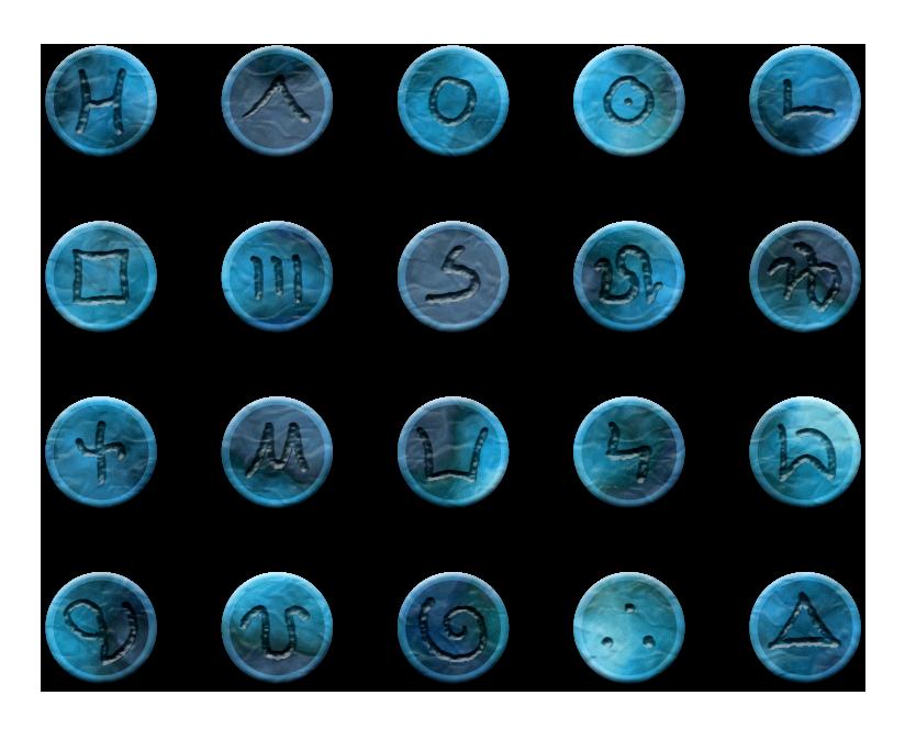 Koeboer Divination Stones by WurdBendur
