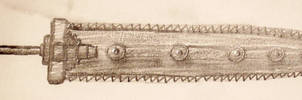Steampunk Chain Sword