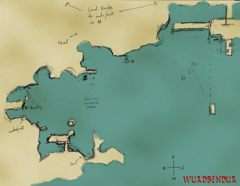 Minecraft Map by WurdBendur