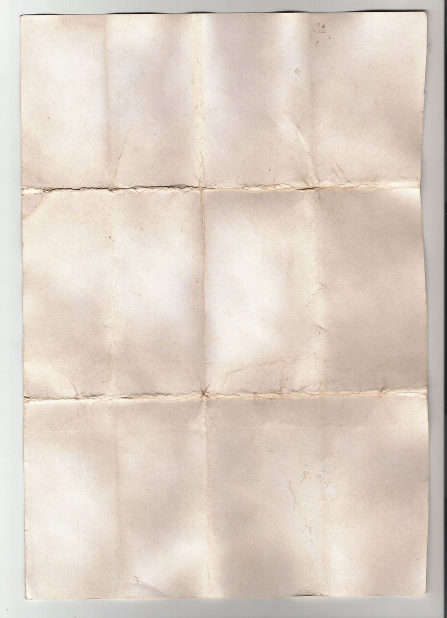 Aged Paper Stock 3 by WurdBendur