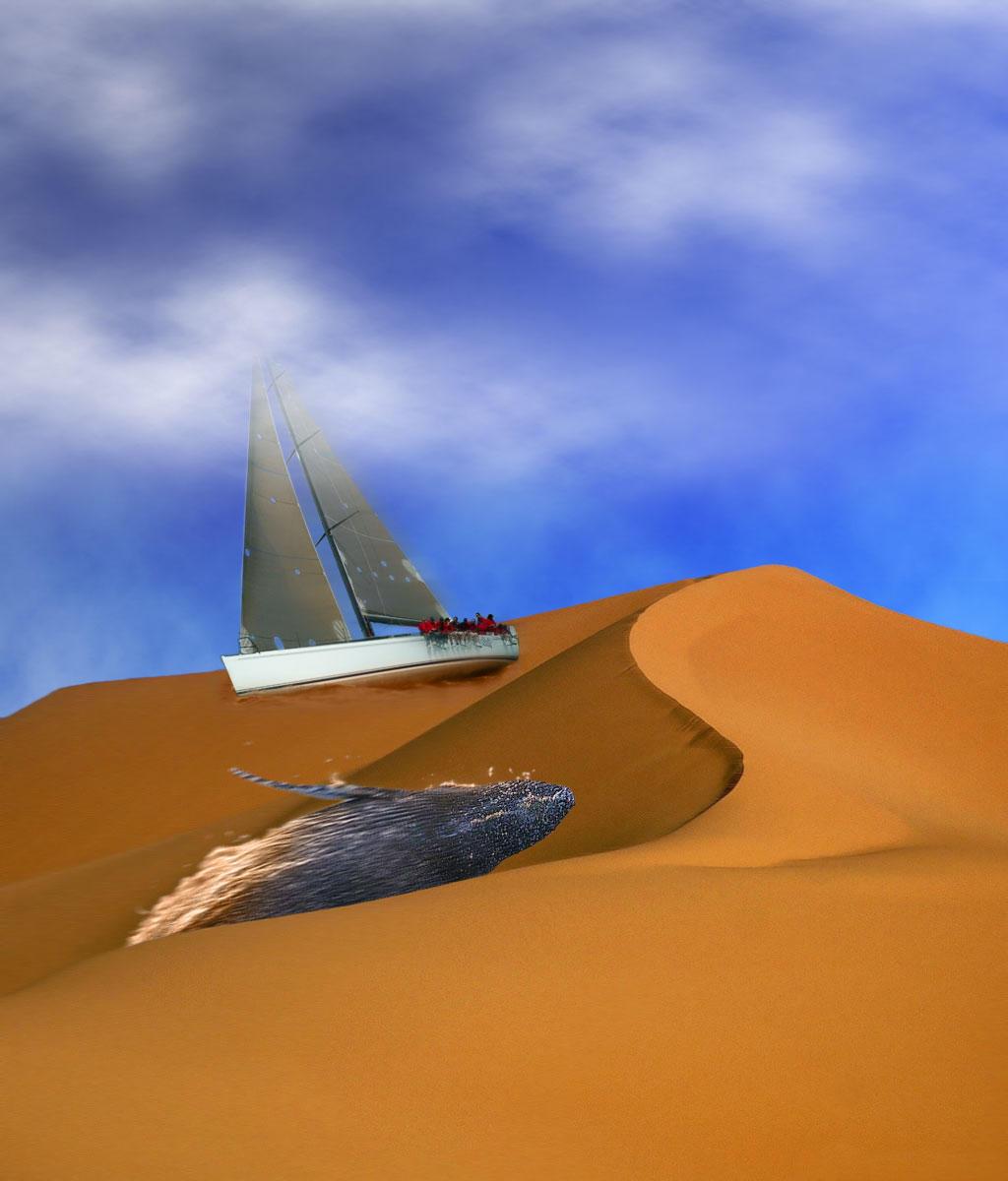 Desert Whale by WurdBendur