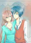 Luka and Kaito?