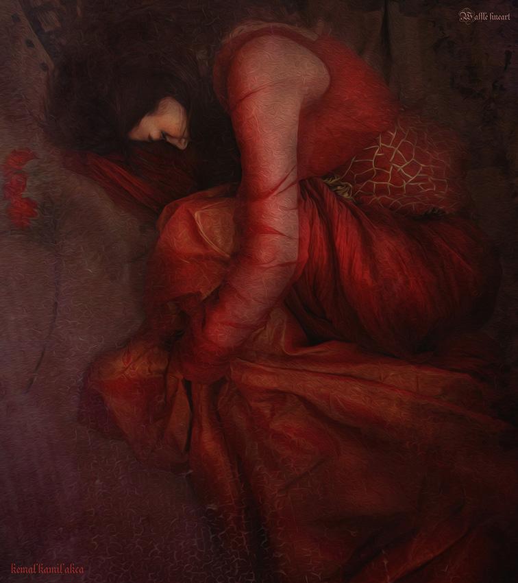 Despairing Red (Love) by kemal-kamil-akca