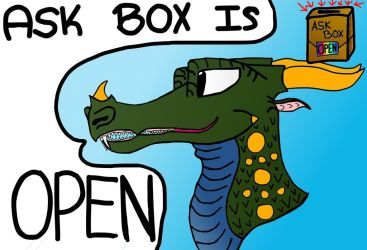 Ask Box Is Open! Ask Me Questions! by Ask-Lorikeet