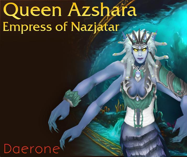 Queen Azshara Empress Of Nazjatar Warcraft Underground