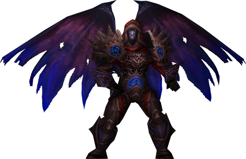 Teron Gorefiend (Death Knight) by Daerone