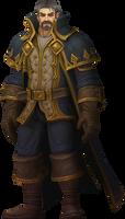 Genn Greymane, King of Gilneas by Daerone