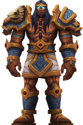 Sargeras, Champion of the Pantheon by Daerone