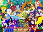 Pokemon Solar and Lunar League Battles