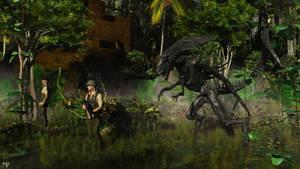 Alien by wolfen11
