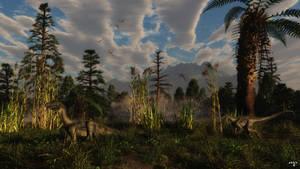 Ornitholestes by wolfen11
