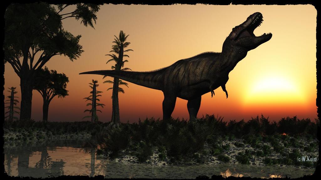 Tyrannosaurus by wolfen11