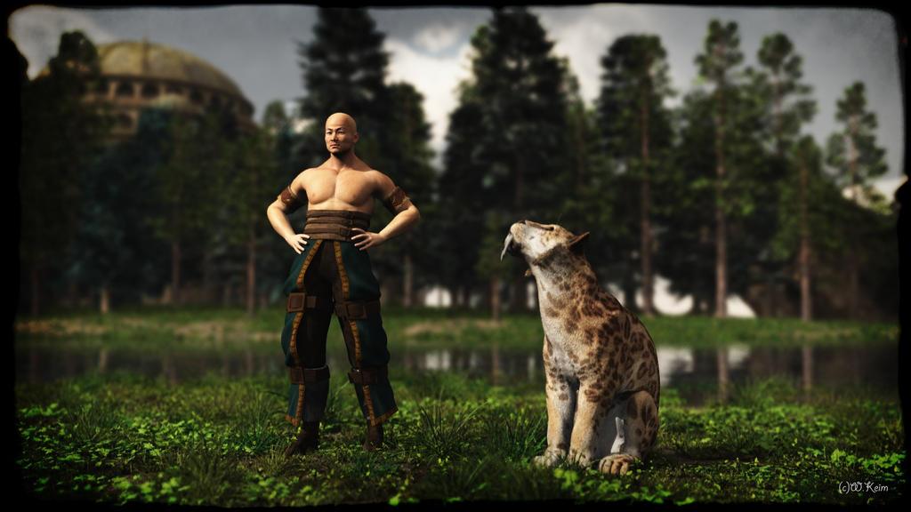 Cat Master by wolfen11