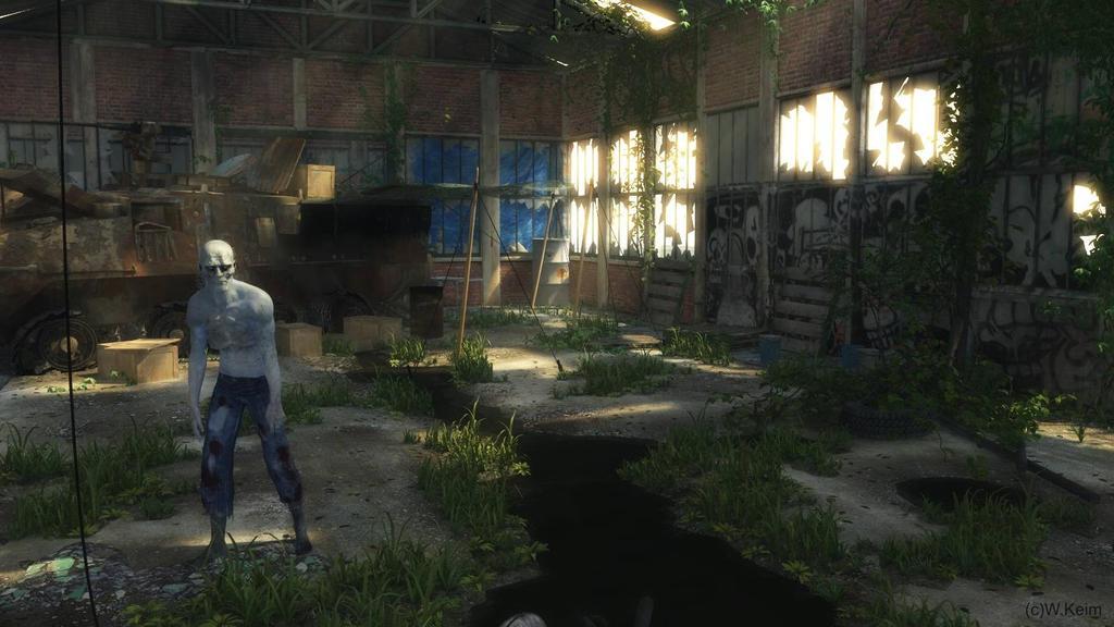 Zombie by wolfen11
