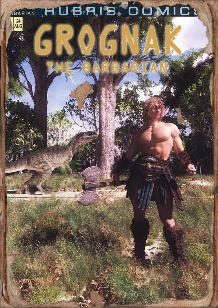 Grognak the Barbarian by wolfen11