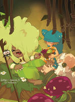 Mini Wakfu Mag 15 by zimra-art
