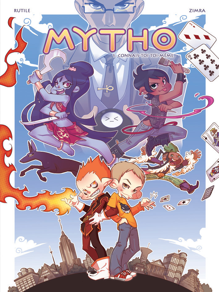 MYTHO vol. 1 cover by zimra-art