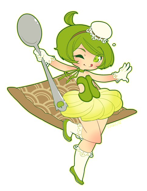 GIJINKA : Apple pie 'a la mode' by zimra-art