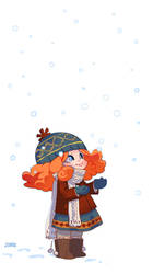 CONTEST WINNER: Snow by zimra-art