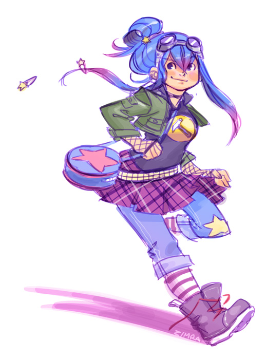 Ramona Flowers by zimra-art