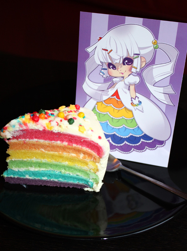 Double Rainbow Cake all the way by zimra-art