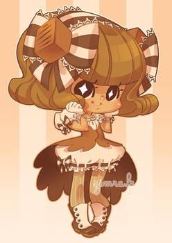Caramel Gijinka