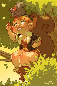 Squirrel Girl (and Tippy-Toe!)