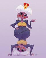 Queen of Hearts by zimra-art