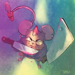 Menacing Mouse
